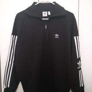 Adidas women's half zip sweatshirt
